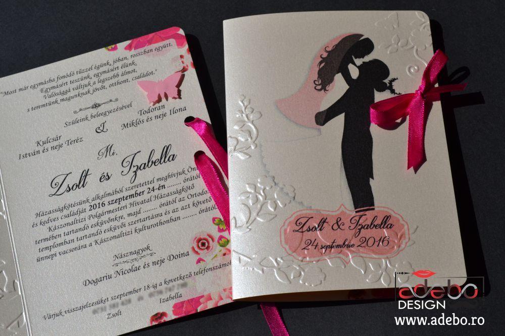 Realizam Invitatii De Nunta Handmade Invitatii Nunta Elegante