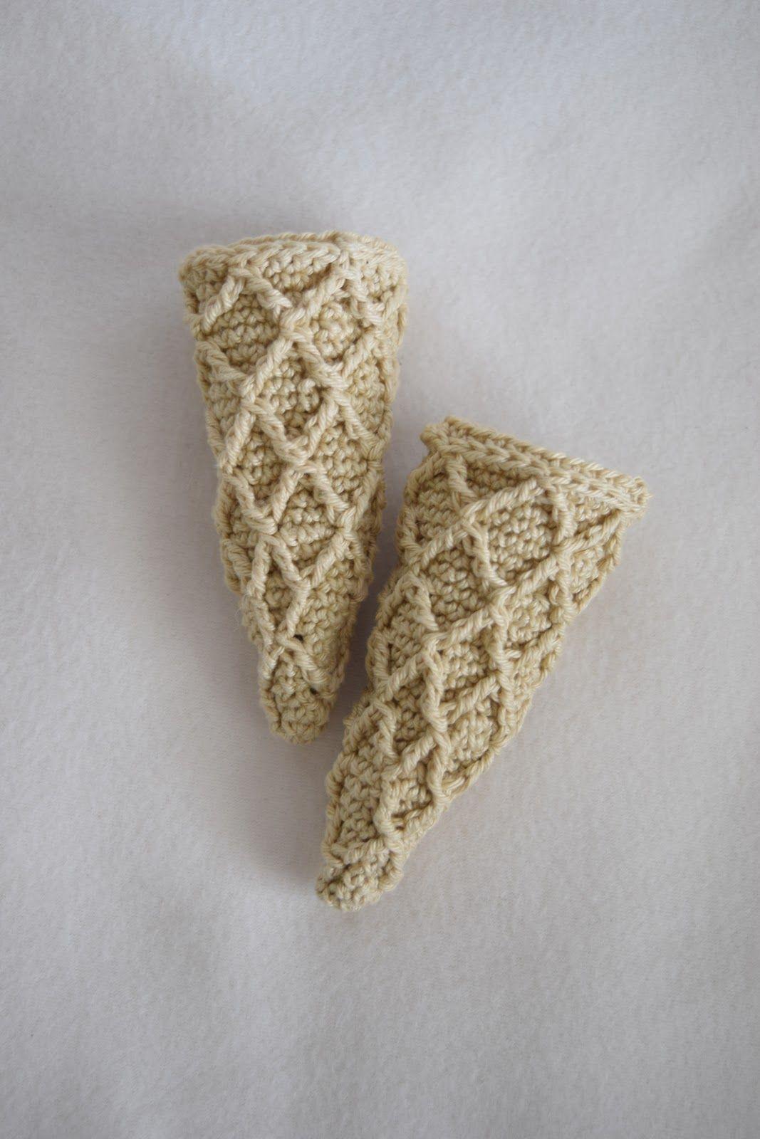 Eiswaffelhäkelnanleitungkostenlos Häkeln Süßes Crochet