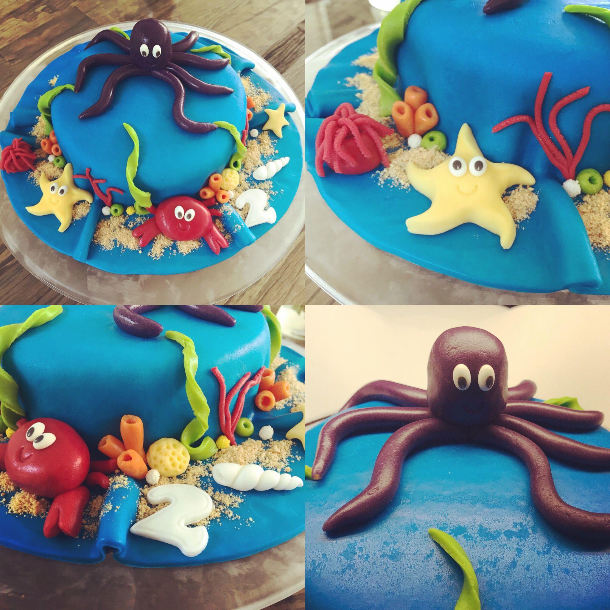 Prime Under The Sea Birthday Cake Cake Birthday Underthesea Funny Birthday Cards Online Inifodamsfinfo