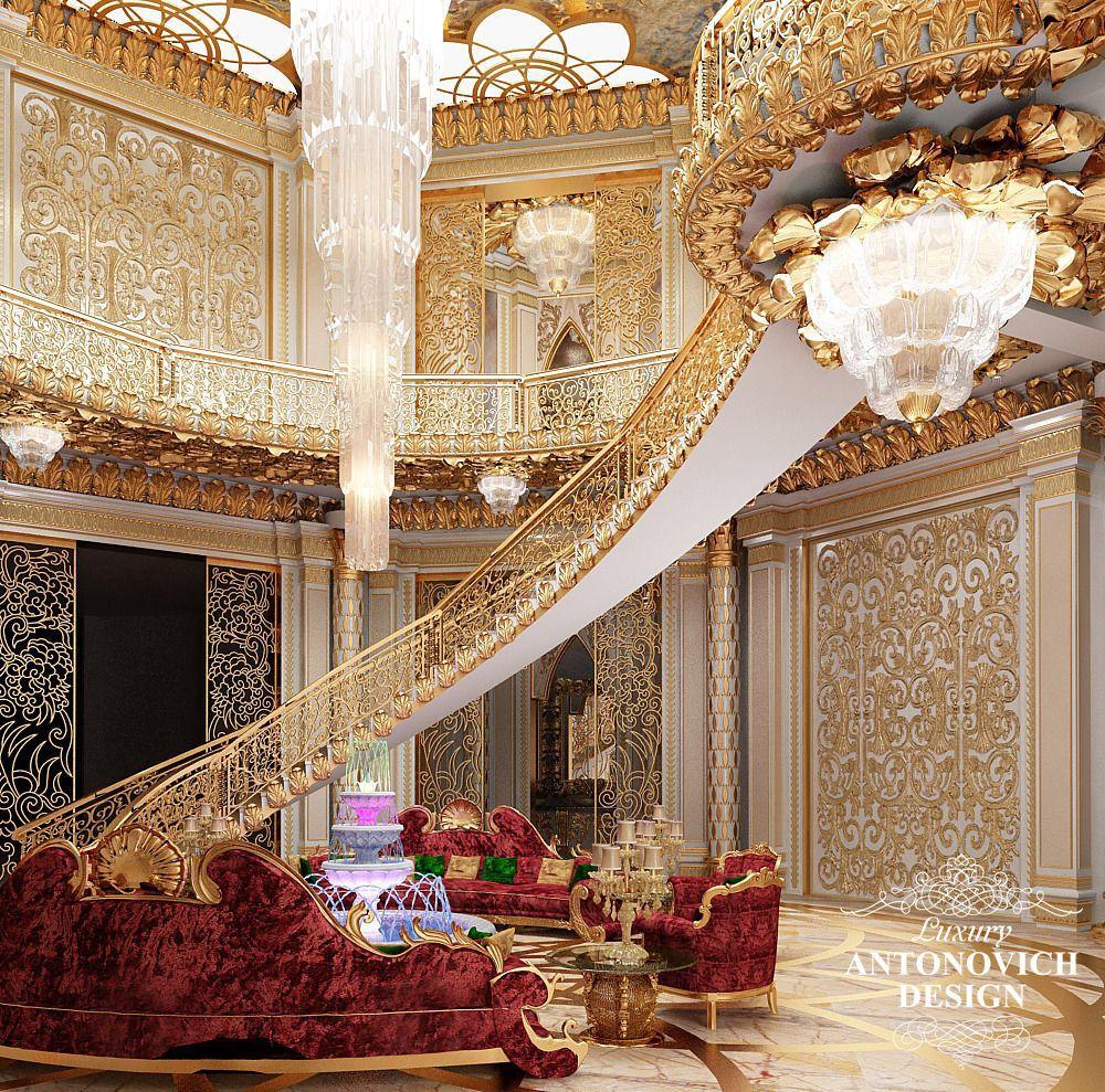 Luxury Mansions Interior: Exquisitely Regal #WhiteandGold Luxury Mansion Interior