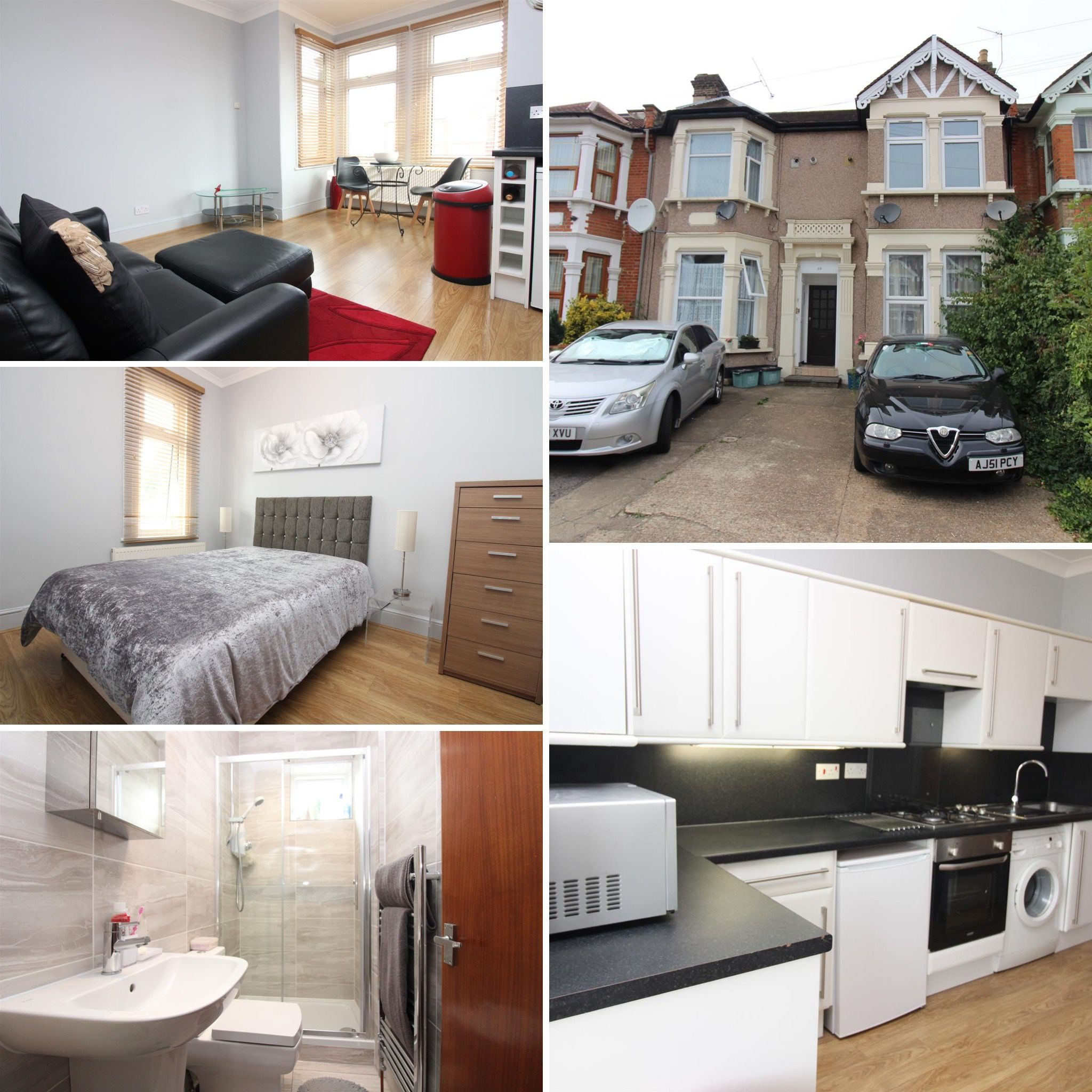 1 double bedroom flat to rent in Ilford Flat rent