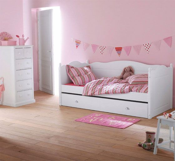 Great Chambre Petite Fille Rose 3
