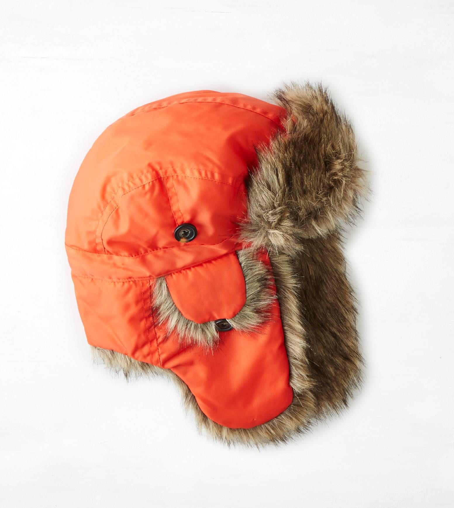 Party Orange AEO Nylon Trapper Hat. Show us your  AEOSTYLE on Instagram or  Twitter for a chance to be featured on AE.com. 68f3dbc7e6f