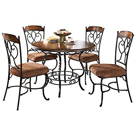 Five Piece Dining Room Table Set Kitchen Table Settings Metal Dining Table Dining Room Table Set Wrought iron kitchen table set