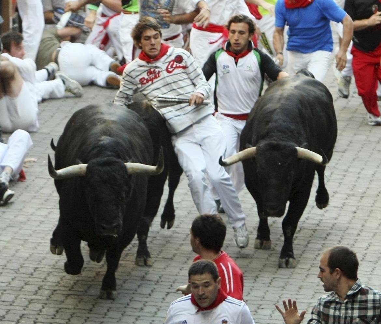 Running of the Bulls, Pamplona, Spain