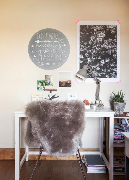 Home office designing and arranging tips  ideas apartment therapy decoratingyourhomeoffice also rh pinterest