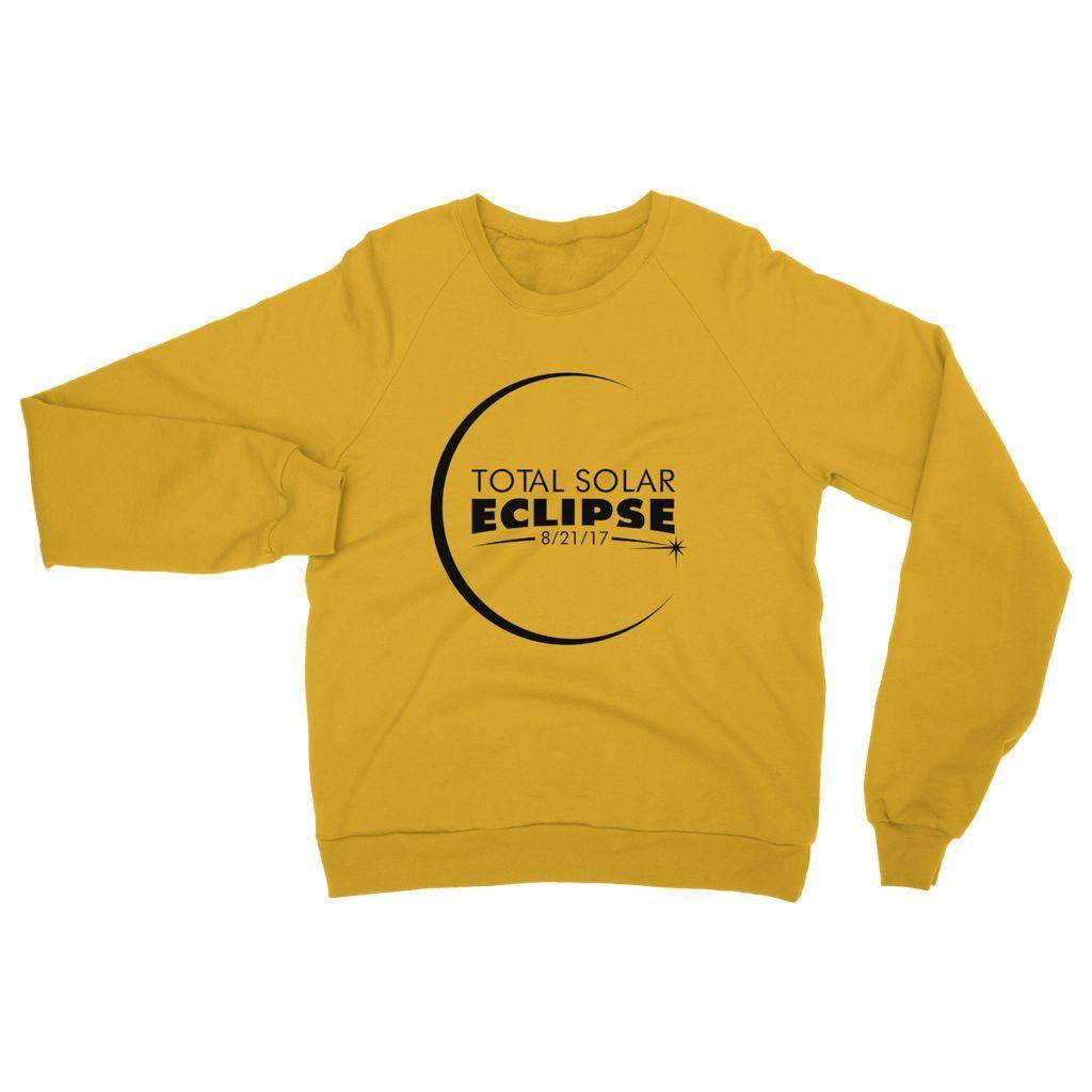 Total Solar Eclipse Heavy Blend Crew Neck Sweatshirt