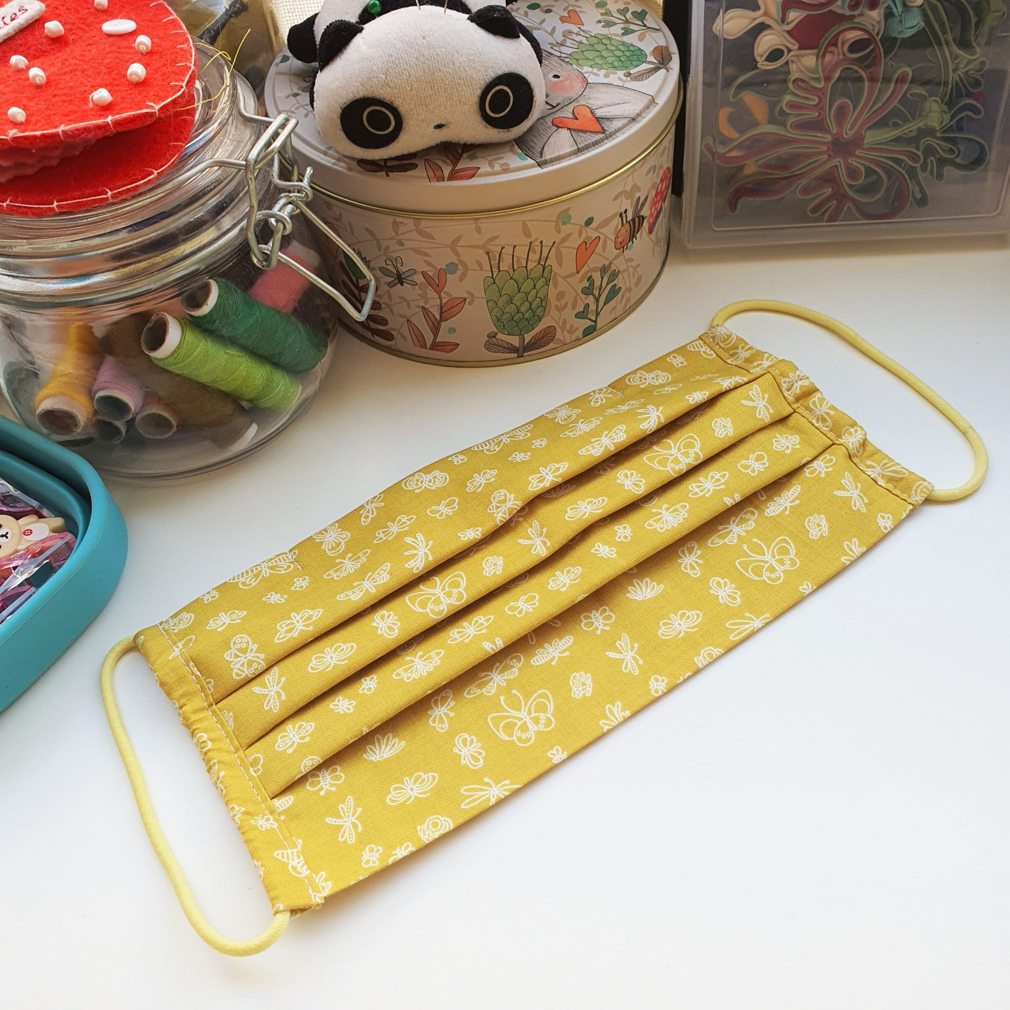 Photo of Simple Surgical Style 3 Pleats Face Mask Pattern