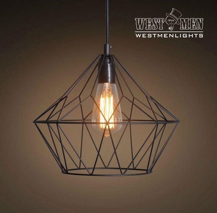Grid Bell 1 Light Metal Pendant
