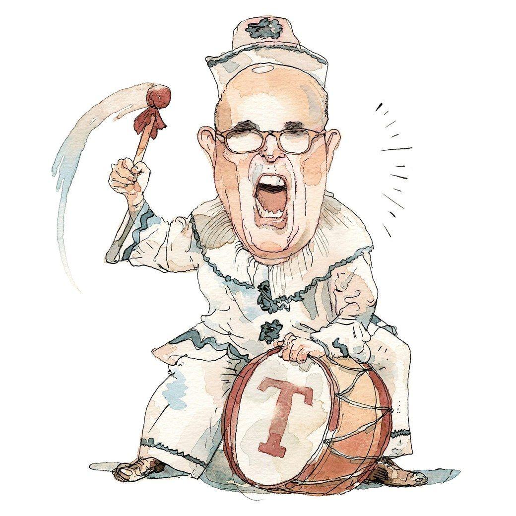 Caricature Of Rudy Giuliani Rudy Giuliani The New Yorker Clown