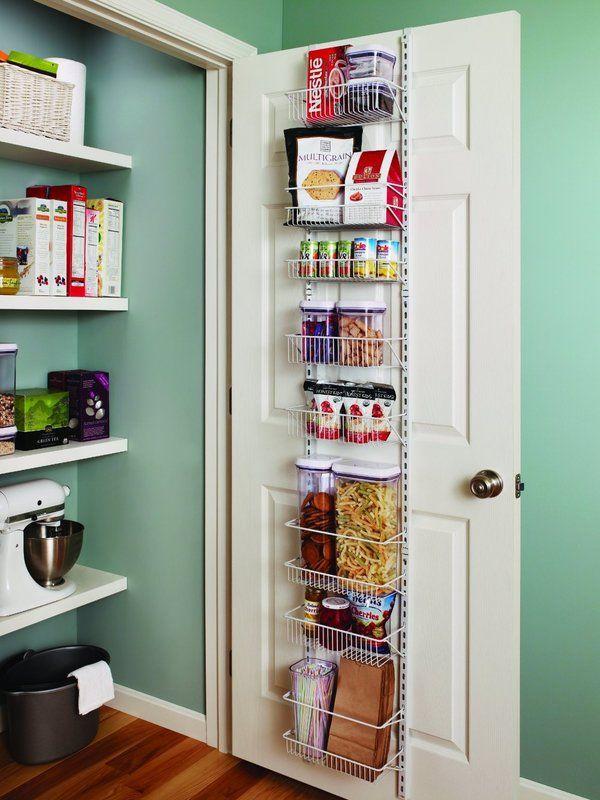 8-Tier Adjustable Cabinet Door Organizer | organize me | Pinterest
