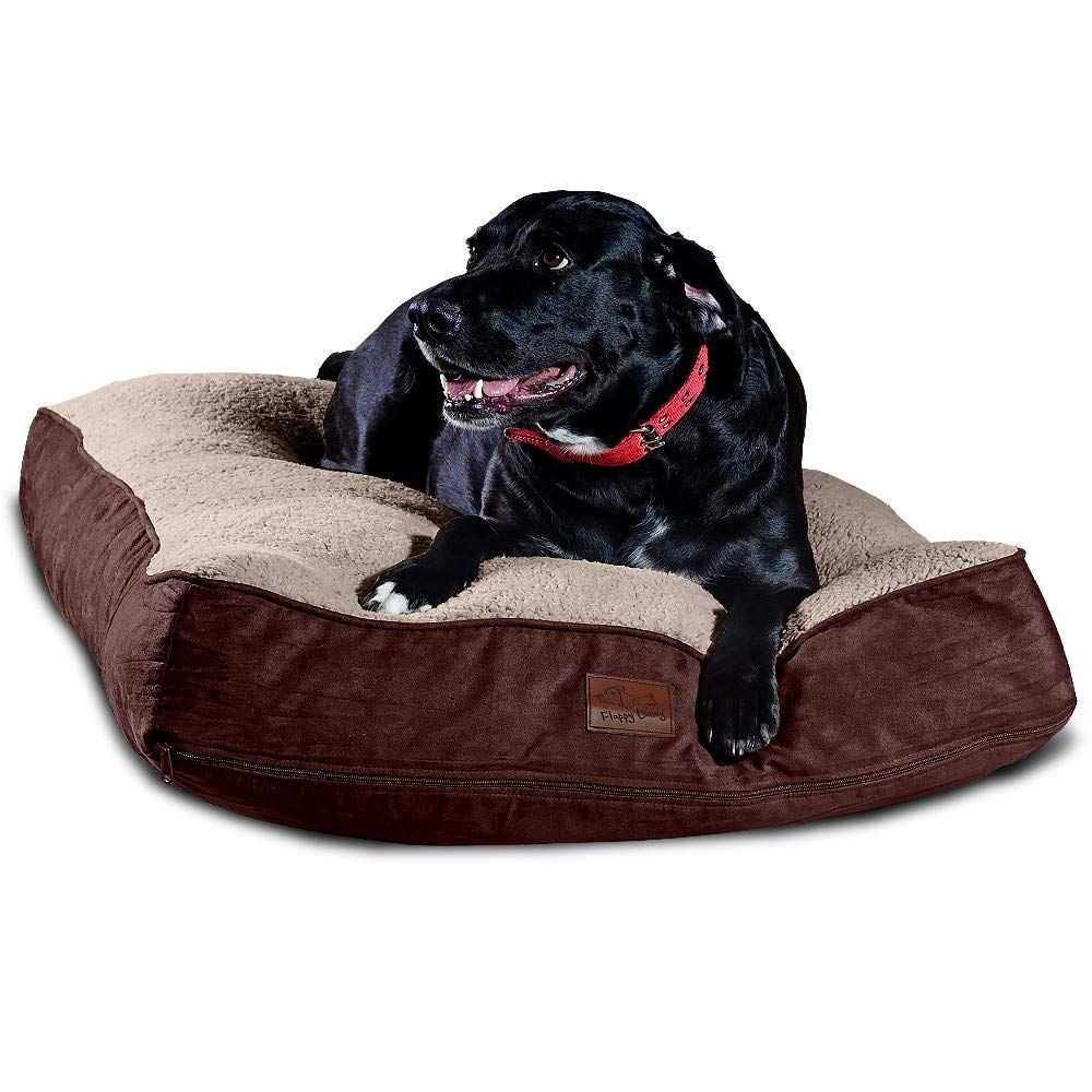 Floppy Dawg Super Extra Large Dog Bed With Removable Cover And