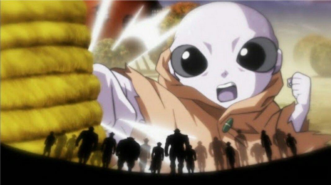 Jiren The Gray Anime Dragon Ball Anime Japan