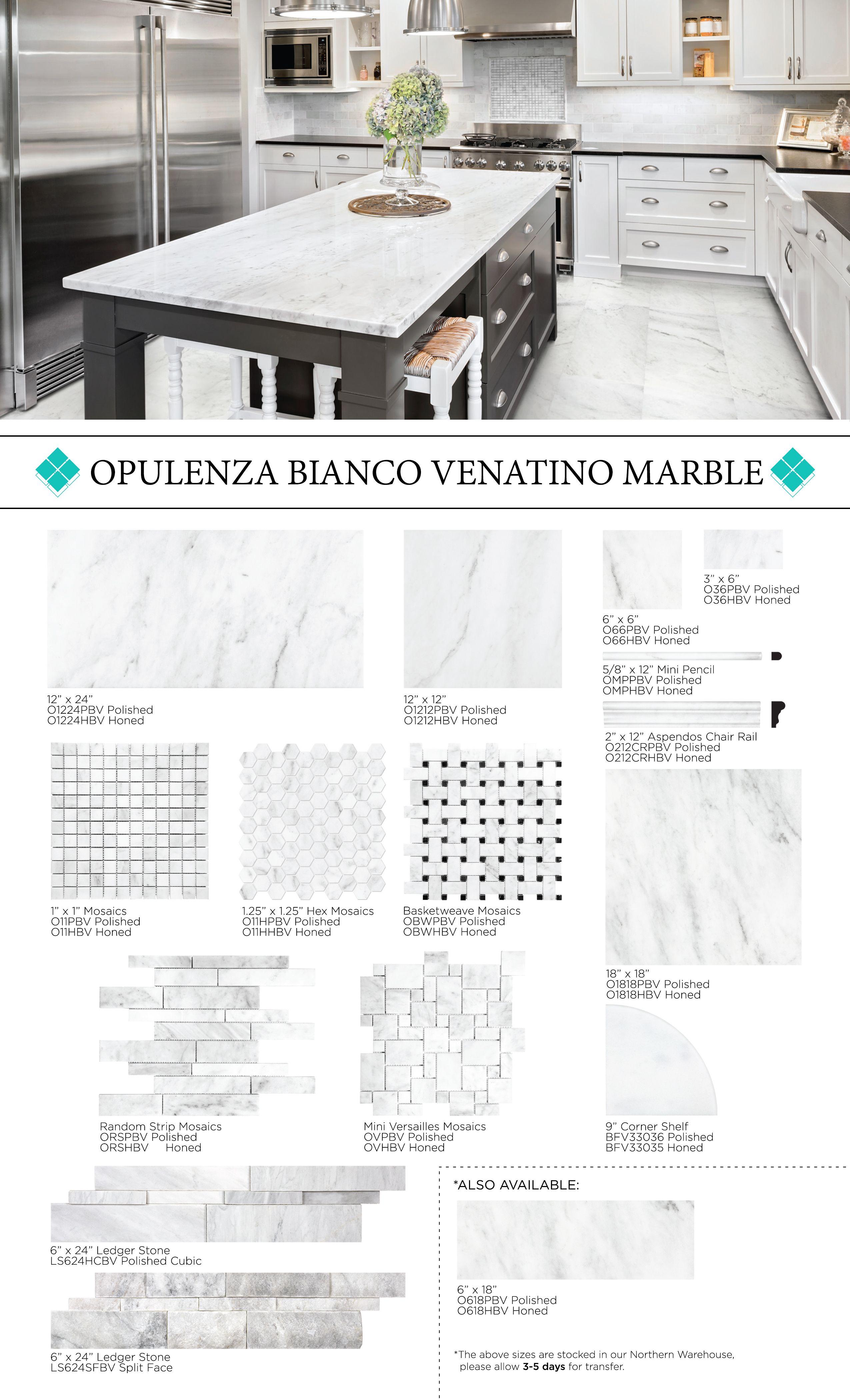 Opulenza Marble Bianco Venatino Marble Polishing