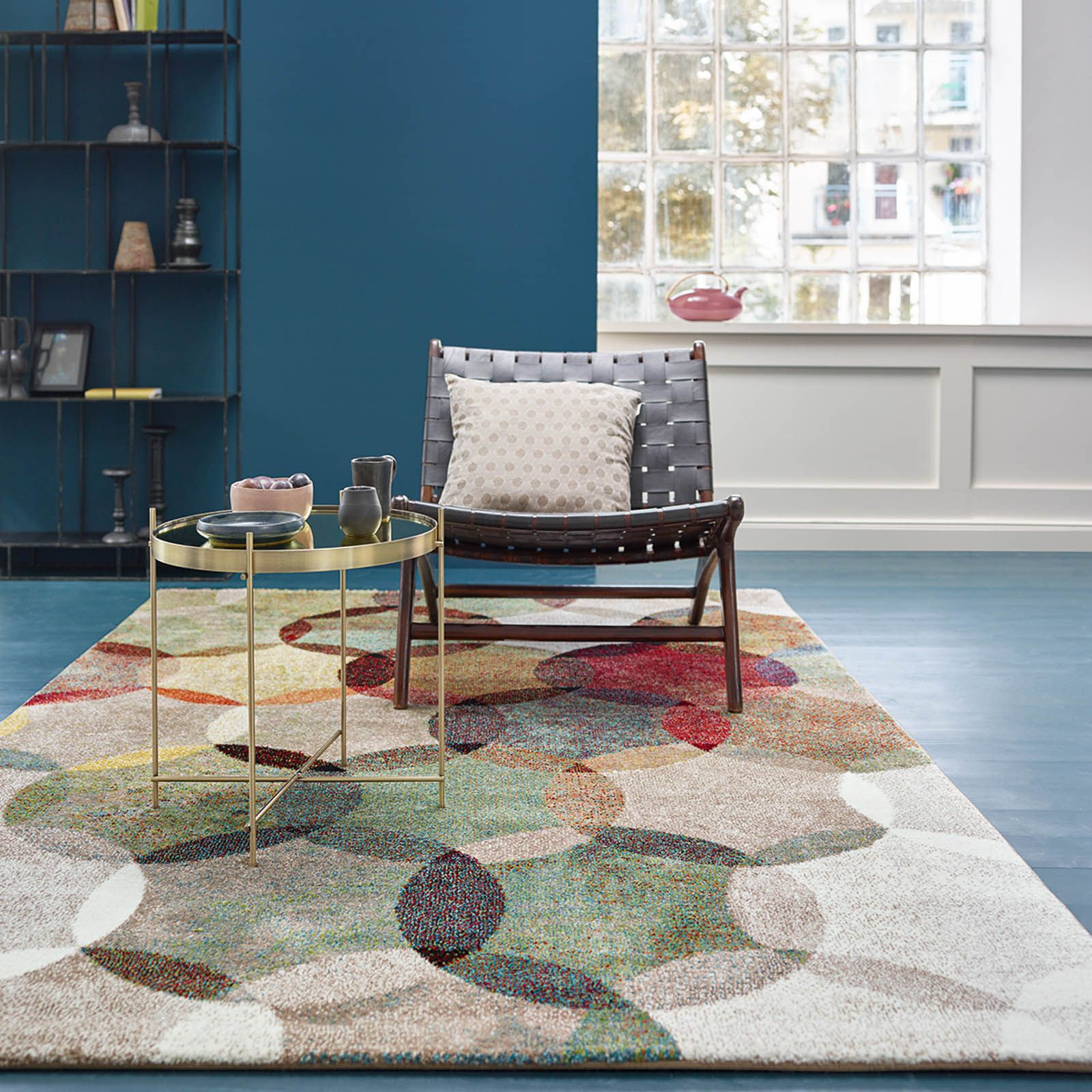Modernina Multi Coloured Rugs 3378 070