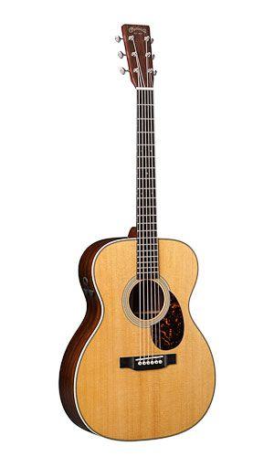 Martin Om 28e Retro C F Martin Co Guitar Best Acoustic Guitar Martin Guitar