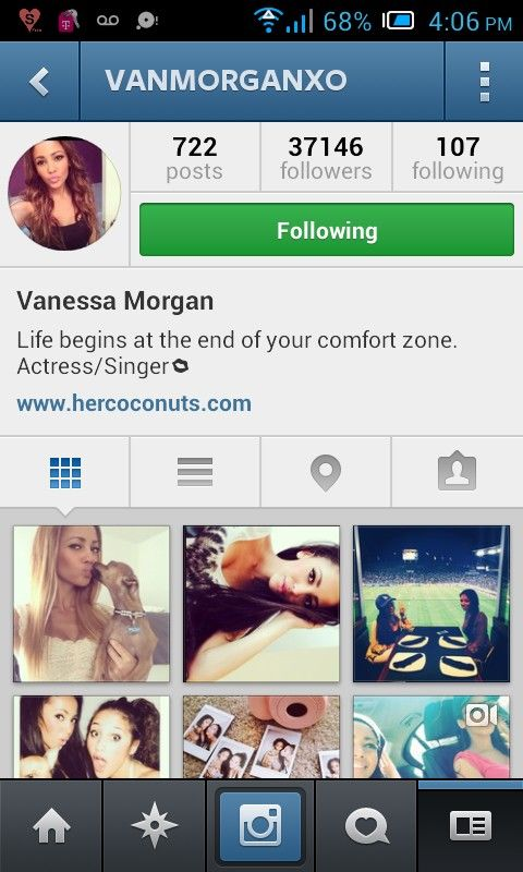 Everyone should follow Vanessa Morgan on instagram! This chick knows how to have FUN