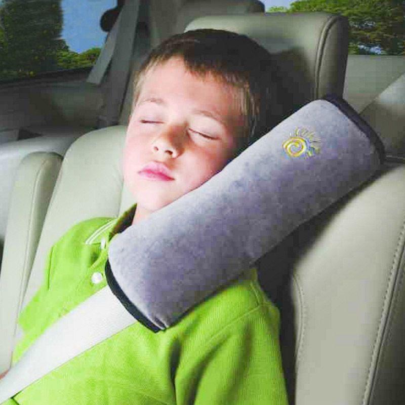 Kids Children Car Seat Belt Shoulder Strap Pad Cover Pillow Cushion Head Support