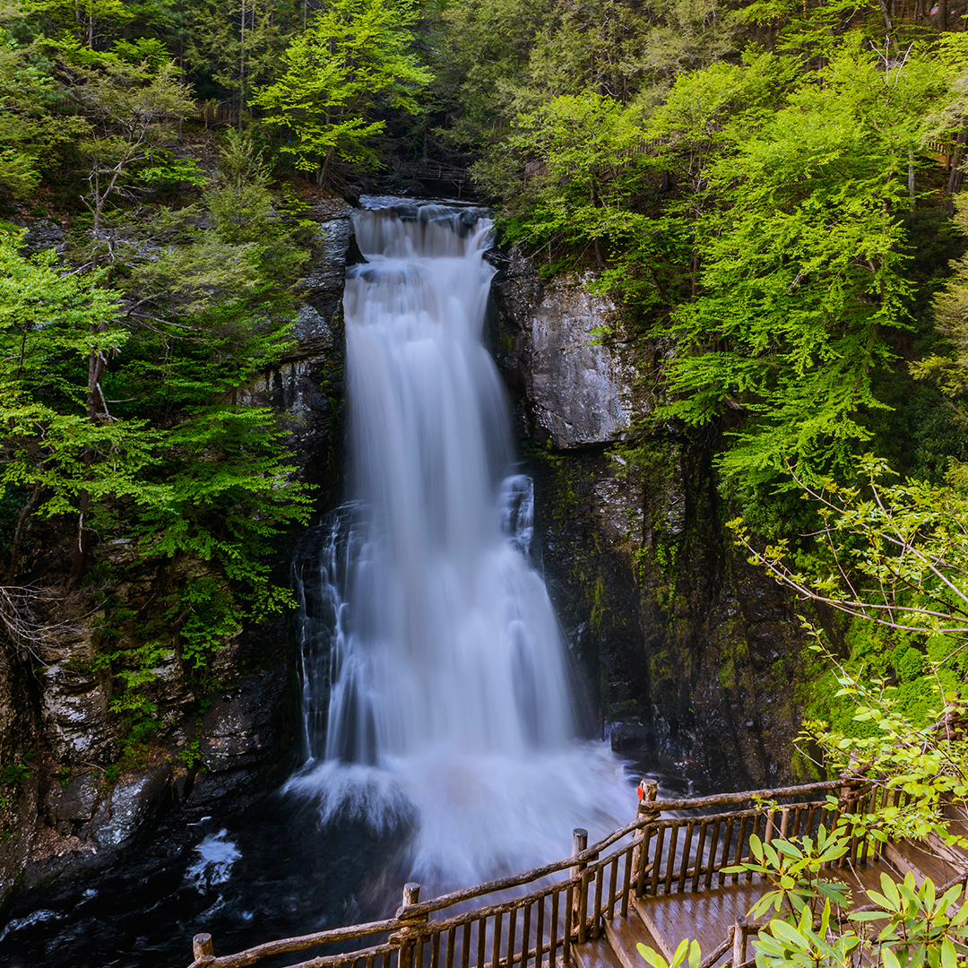 Bushkill Falls | Bushkill falls, Beautiful waterfalls ...