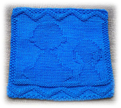 Chuck and Snoopy Dishcloth by Alli Barrett - free pattern | D.I.Y. ...