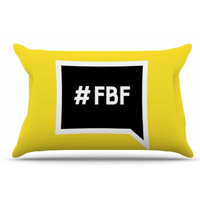 East Urban Home Flash Back Friday Pillow Sham Size: Standard