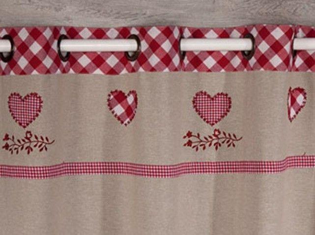 Rideaux becquet chalet | cortinas | Pinterest | Chalet, Coussin ...