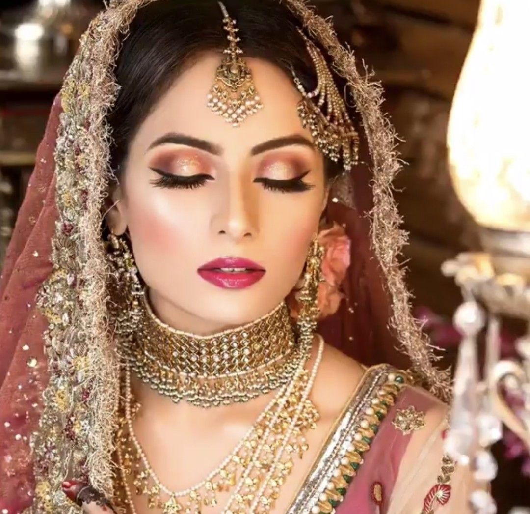 shikachand Indian bridal makeup, Indian culture and