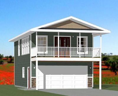 20x32 House 1 Bedroom 4 12 Roof Pitch Pdf Floor Plan Model 7f House Plans Small Floor Plans House