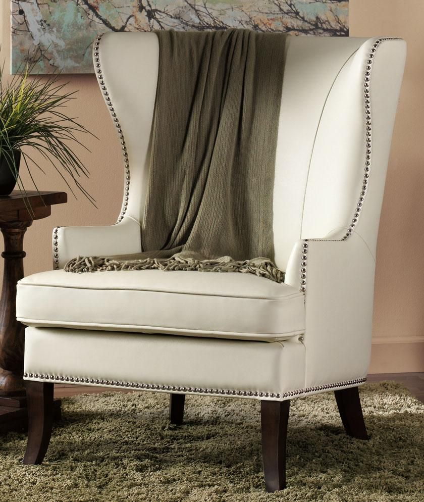 Grant Wing Back Chair  Arm Chairs  Living Room Furniture Simple Wing Chairs For Living Room Design Inspiration