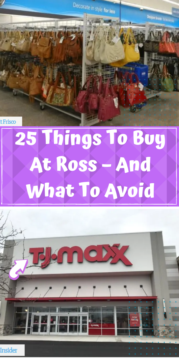 25 Things To Buy At Ross And What You Should Avoid In 2020 Viral Pins Top Pins Latest Pics