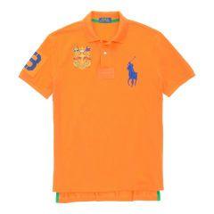Custom-Fit Big Pony Crest Polo - Polo Ralph Lauren Custom-Fit - RalphLauren