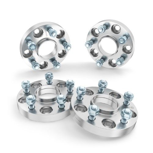 """4pc Jeep 5x5 Hubcentric Wheel Spacers 1.5/"""" for Commander Grand Cherokee Wrangler"""