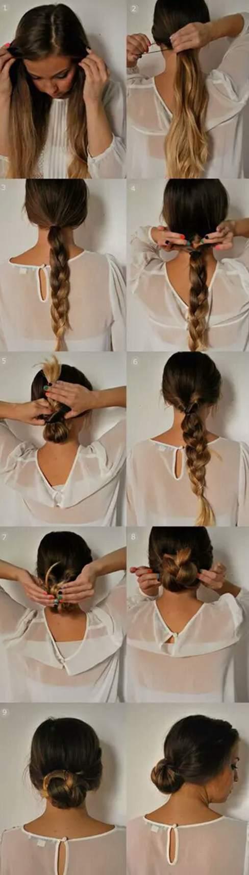 Long hair ideas easy minute hairstyles mornings long hair ideas