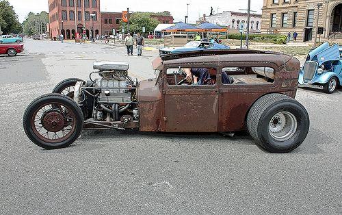 Ford Model A Tudor Sedan Rat Rod Of Hot Rod