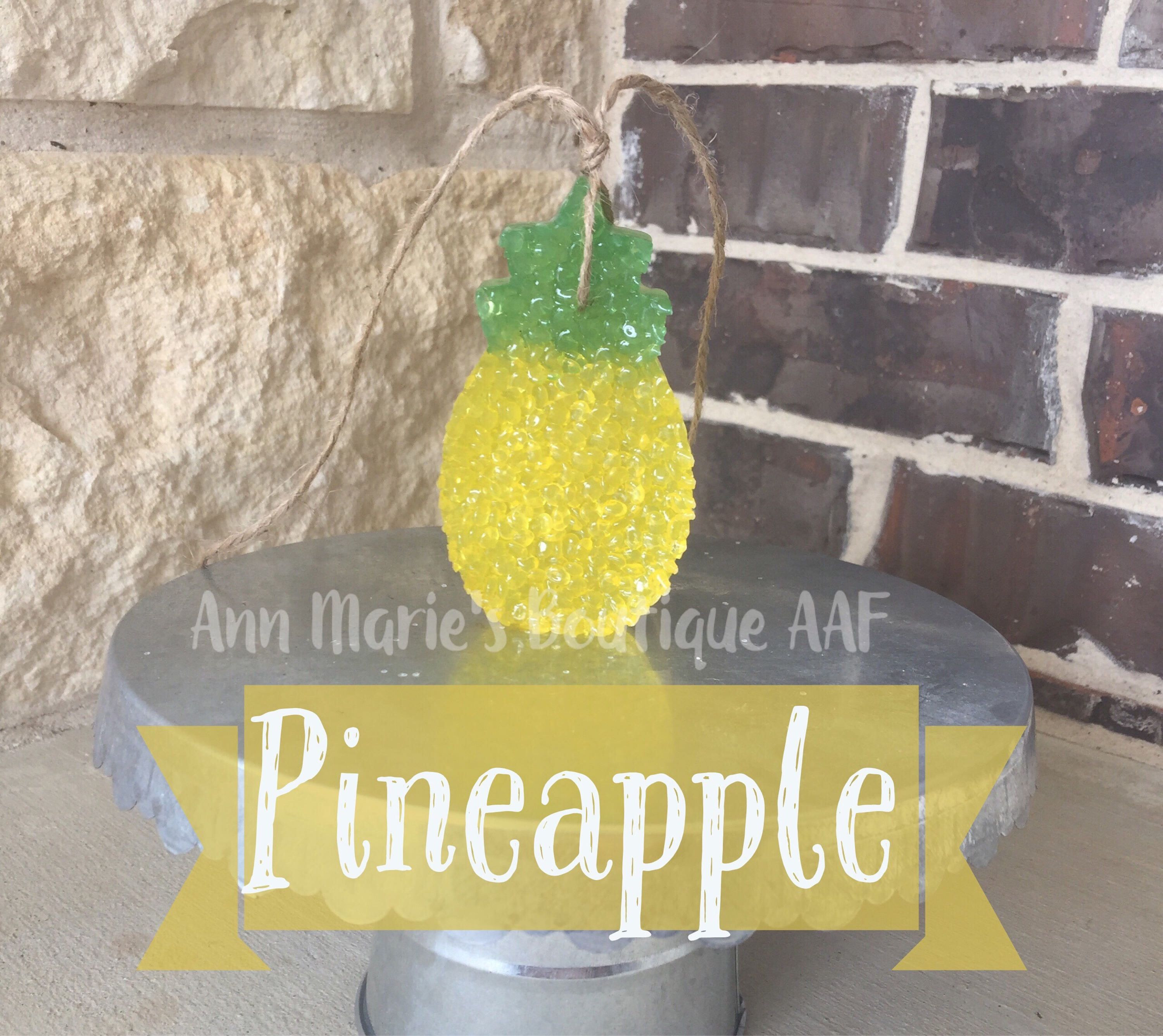 Pineapple Car Scent by AnnMariesandmore on Etsy https