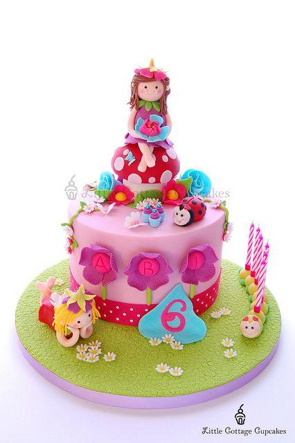 Ah wat schattige taart