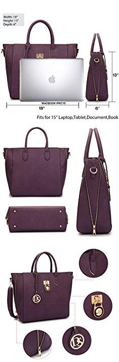 Dasein Bags Women S Designer Large Laptop Top Handle Structured Tote Bag Satchel Handbag Shoulder Purse Daseinbags
