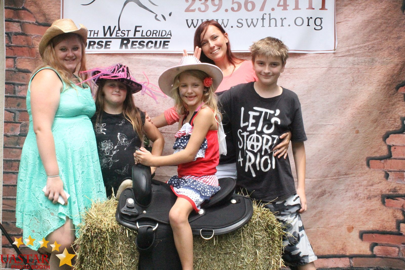 South West Florida Horse Rescue  photo collection by UaStar Photo Booth
