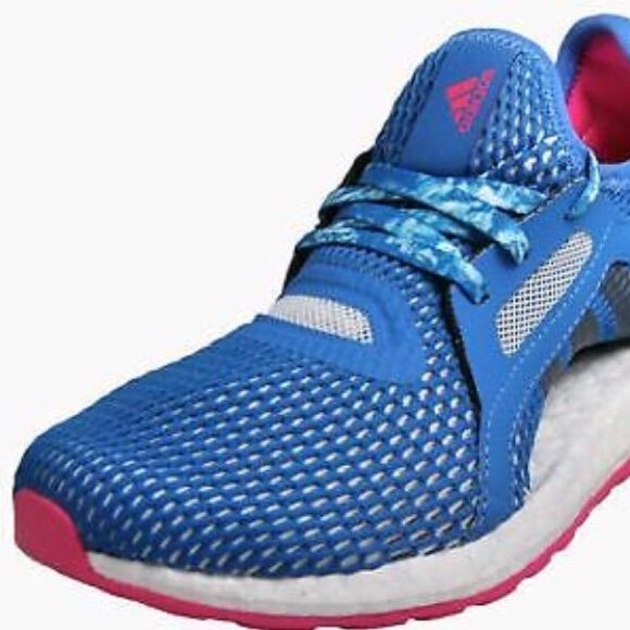 adidas Shoes | Adidas Pureboost X Womens Running Shoes Blue
