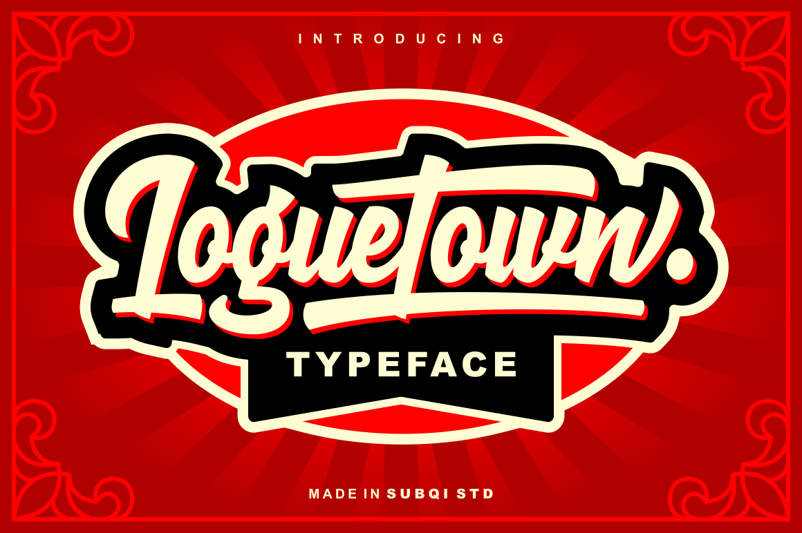 Loguetown (Font) by Subqi Std · Creative Fabrica in 2020