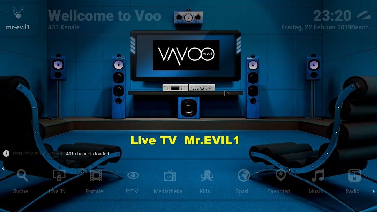 VAVOO TV the best Bundle Mr EVIL1 2019 / VAVOO TV le
