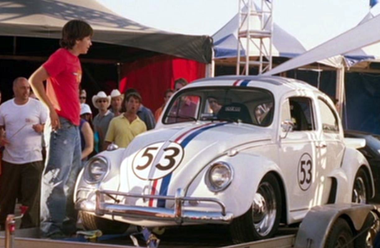 Herbie Fully Loaded Herbie Fully Loaded Another Fun Herbie Movie Which Never Let You Cars Movie Classic Cars Euro Cars [ 799 x 1222 Pixel ]