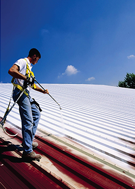 Coolon Roof Coating For Industries Https Www Insulla Com Cool Roof Roof Restoration Commercial Roofing