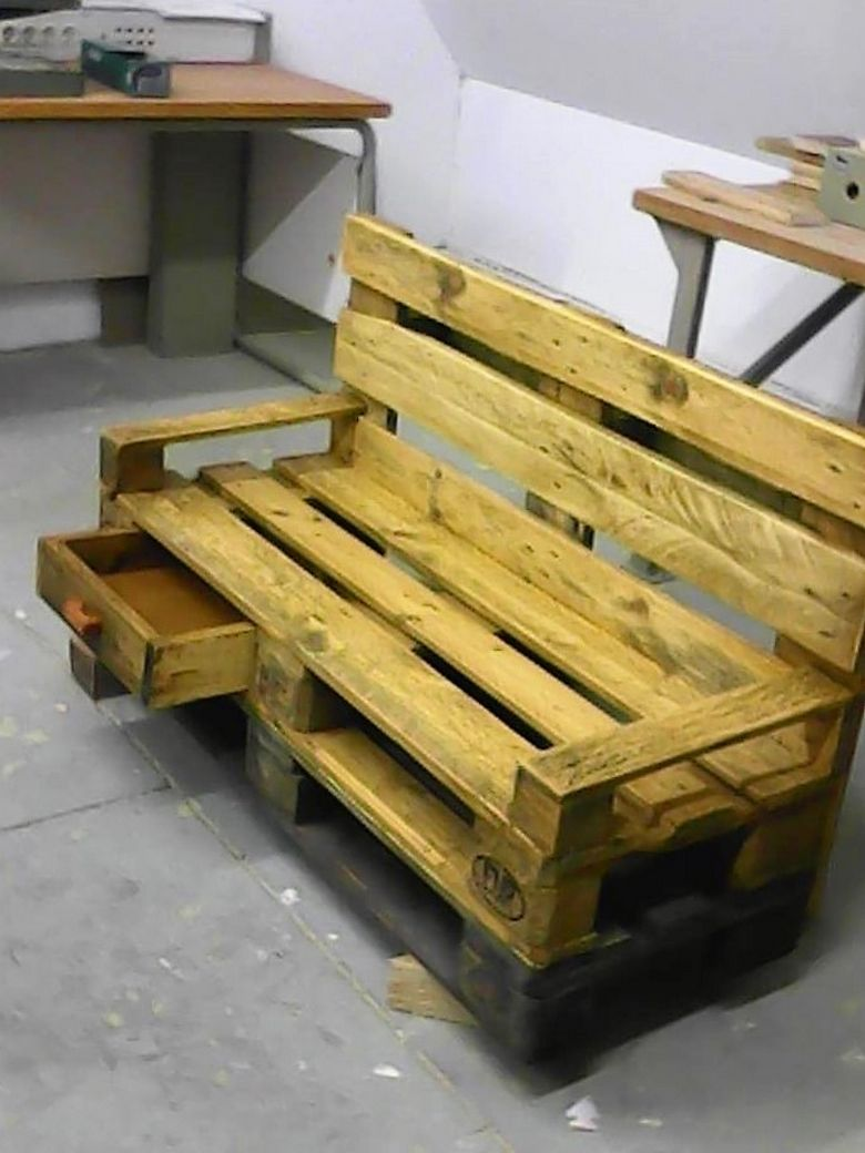 Schubladenbank Easy Ideas For Pallet Wood Recycling All Things Pallets
