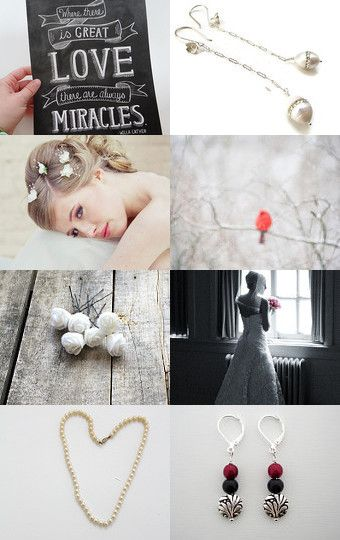 Pearls and Rosebuds by Annie on Etsy--Pinned with TreasuryPin.com