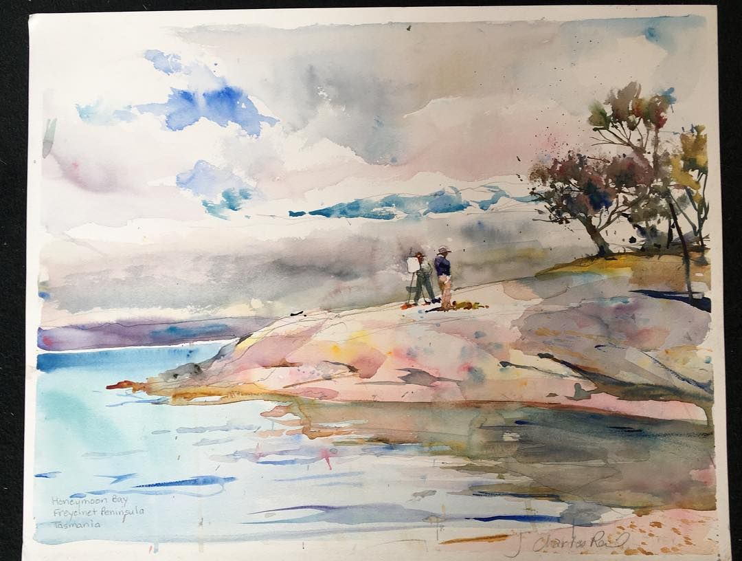 Sarah Reid On Instagram Honeymoon Bay Tasmania 16 X19 5 By