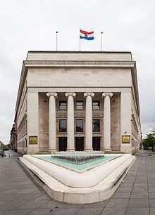 Croatian National Bank Zagreb Croatia Croatian Bolivia Travel