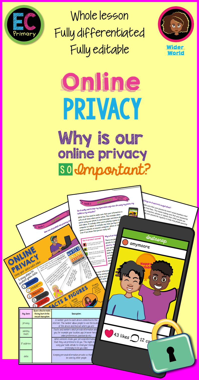 Online Safety Privacy For Kids In 2020 Online Safety Staying Safe Online Life Skills Lessons