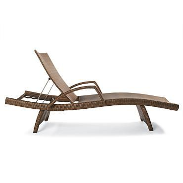 Balencia Chaise Lounges With Arms Set Of Two Out Door