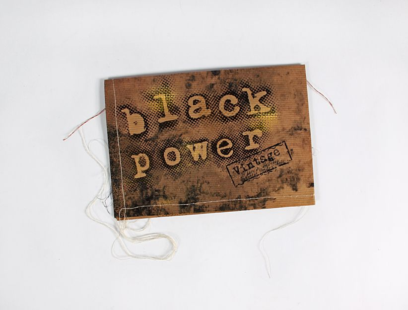 "Invitación - PressBook  ""Black power vintage""  1"